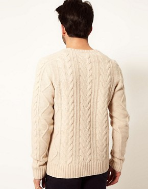 Image 2 ofDrykorn Jumper with Cable Scoop Neck