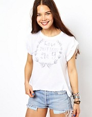Camiseta con escudo Love Potion de Wildfox