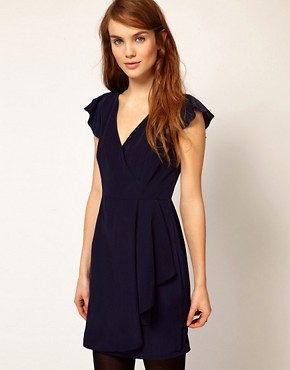 Image 1 ofA Wear Wrap Dress