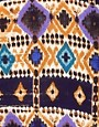 Image 3 ofBand of Gypsies Kimono Jacket In Graphic Traveller Print