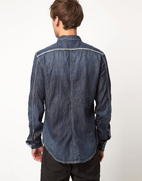 Image 2 ofDiesel Rooby Denim Long Sleeve Shirt