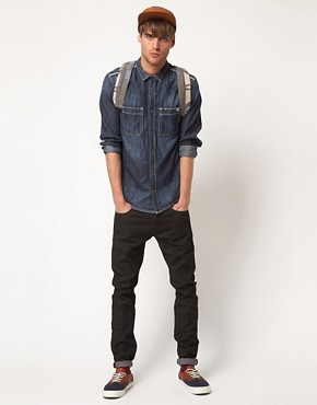 Image 4 ofDiesel Rooby Denim Long Sleeve Shirt