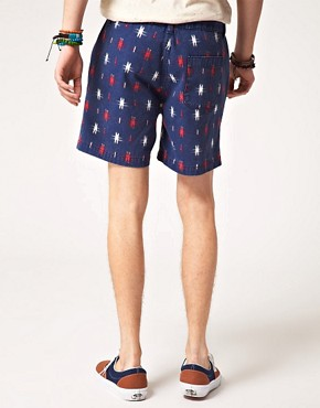 Bild 2 von ASOS  Shorts mit Aztekenmuster