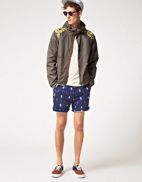 Bild 4 von ASOS  Shorts mit Aztekenmuster