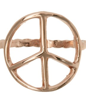 Image 2 of Bing Bang Peace Sign Ring