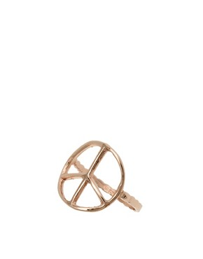 Image 1 of Bing Bang Peace Sign Ring