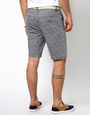 Image 2 ofRiver Island Paisley Shorts