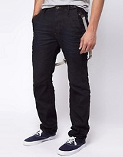 G Star Didley 3D Tapered Chino Jeans With Braces