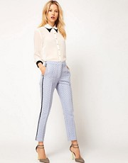 ASOS Premium Tile Trousers