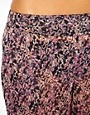 Image 3 of ASOS Floral Print Chiffon Embellished Beach Pant