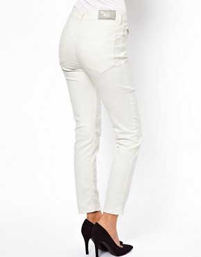 Image 2 ofDiesel Highknee High Waist Skinny Jeans
