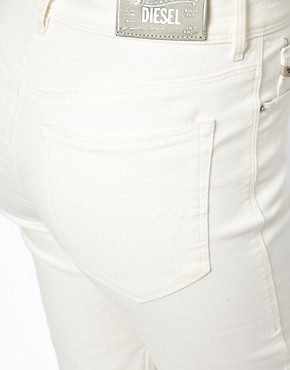 Image 3 ofDiesel Highknee High Waist Skinny Jeans