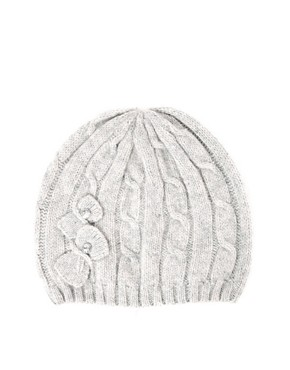 Image 4 ofOasis Diamante Bow Beanie