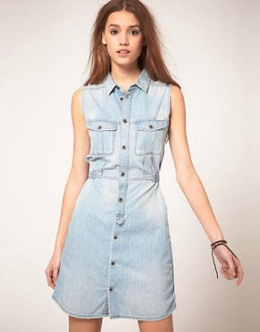 Image 1 ofDiesel Denim Dress