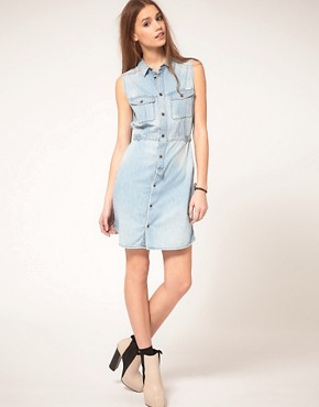 Image 4 ofDiesel Denim Dress