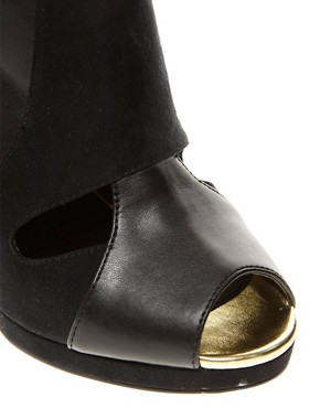 Image 2 ofASOS TEMPO Peep Toe Shoe Boots