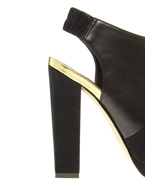 Image 4 ofASOS TEMPO Peep Toe Shoe Boots