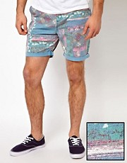 ASOS Chino Shorts With All Over Print