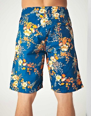 Image 2 ofScotch &amp; Soda Floral Swim Shorts