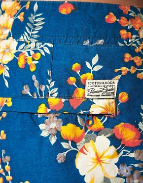 Image 3 ofScotch &amp; Soda Floral Swim Shorts