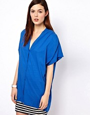 BZR Cotton Poplin Tunic Dress