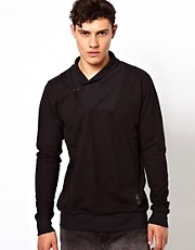 Religion Shawl Neck T-Shirt