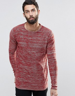Only & Sons Spacedye Knitted Jumper