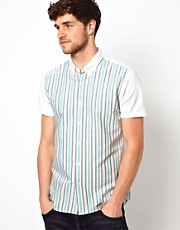ASOS Shirt With Stripe Panel