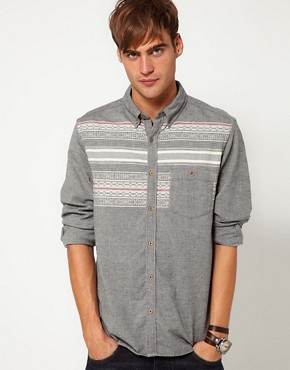 Image 1 ofRiver Island Warden Shirt