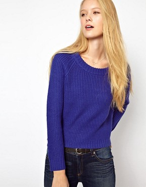Image 1 of Rag & Bone/Jean Chunky Rib Knit Jumper