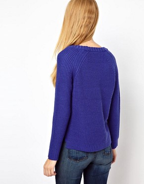 Image 2 of Rag & Bone/Jean Chunky Rib Knit Jumper