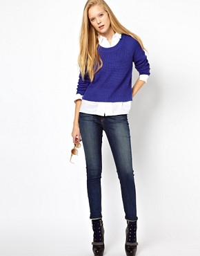Image 4 of Rag & Bone/Jean Chunky Rib Knit Jumper