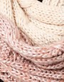 Image 2 ofRiver Island Cable Metallic Thread Ombre Snood