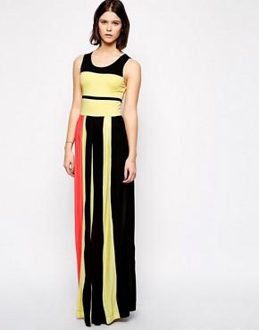 French Connection Medina Stripe Maxi Dress