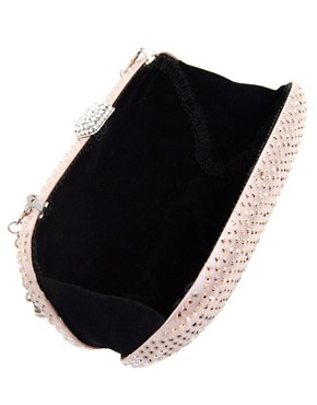 Image 2 ofJohnny Loves Rosie Glitter Box Clutch Bag