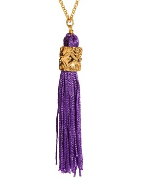 Image 4 ofJamie Jewellery Long Tassel Necklace