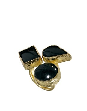 Image 1 of Pieces Flica Stone Ring