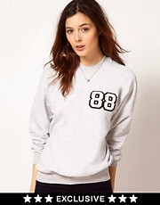 Johann Earl Number Sweatshirt