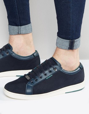 Ted Baker Owenn Suede Trainers