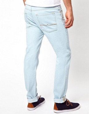 Image 2 ofASOS Slim Jeans Bleached