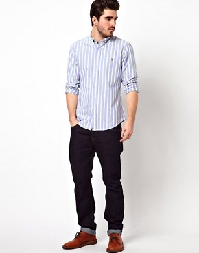 Image 4 ofPolo Ralph Lauren Shirt in Slim Fit Oxford Stripe