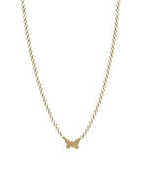 Image 1 ofDogeared Whispers Butterfly Necklace
