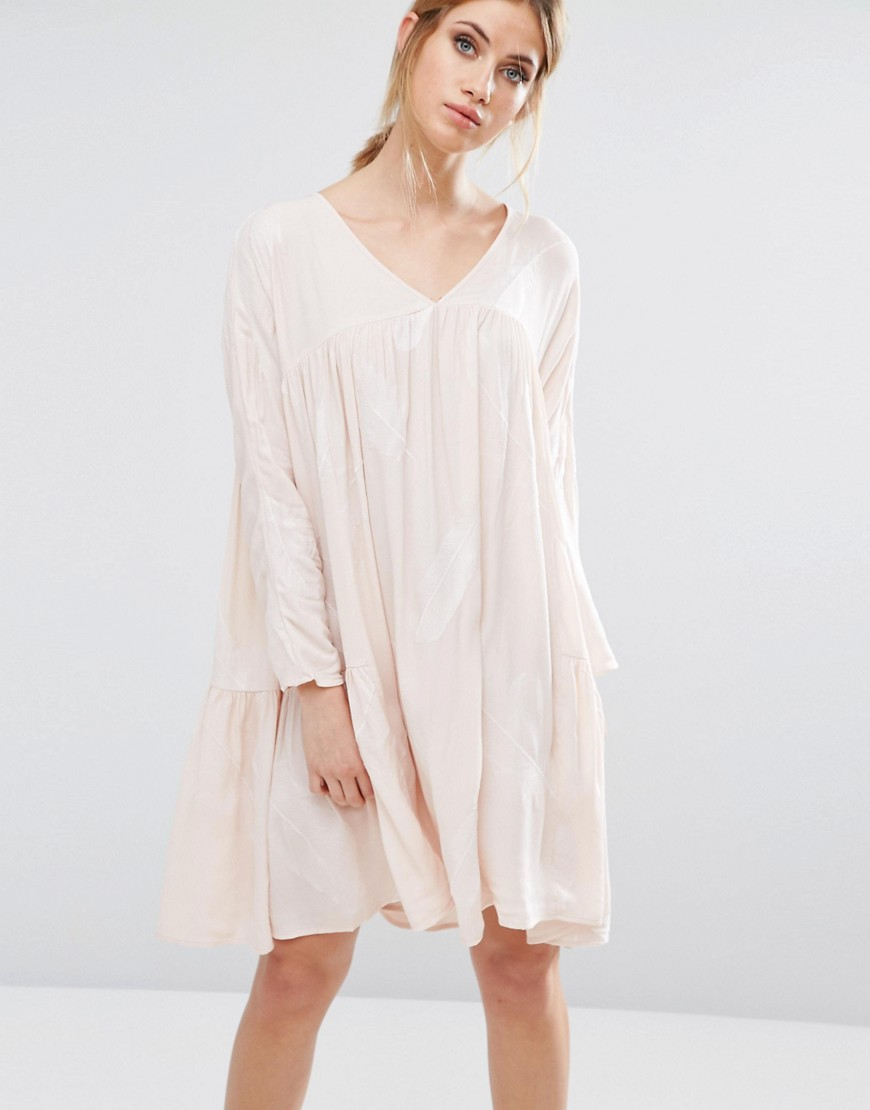 Little White Lies Isla Smock Dress - Pink