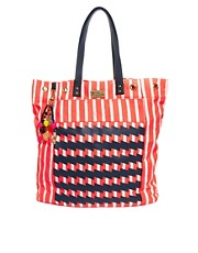 Paul&#39;s Boutique Lola Stripe Tote Bag