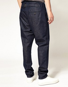 Image 2 of ASOS Tapered Denim Chinos