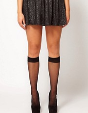 Pretty Polly Curves Comfort Knee High Socks