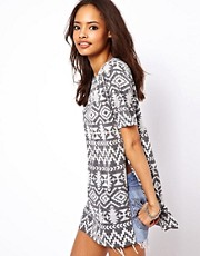 ASOS T-Shirt with Aztec Print