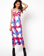 Motel Tie Dye Midi Dress