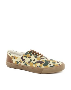 Image 1 ofASOS Trainers with Camo Print