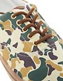 Image 2 ofASOS Trainers with Camo Print